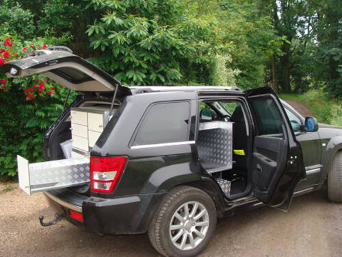 Jeep Grand Cherokee Mobieteek 7 laden, 1 gekoeld