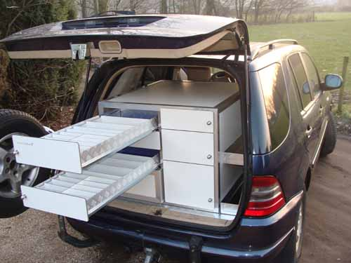 Mercedes ML Mobieteek 7 laden,