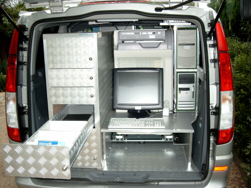 Mercedes Vito, totaal inrichting