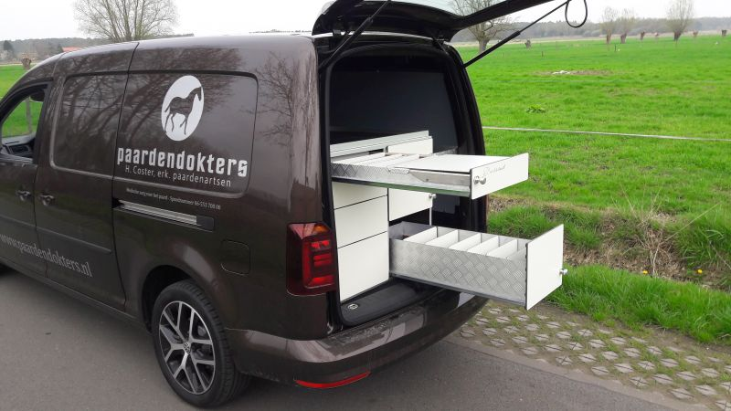 autoinrichting dierenarts caddy